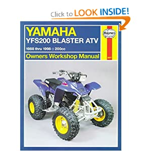 Yamaha YFS200 Blaster ATV '88'98 (Haynes Owners Workshop Manual Series) Chilton