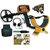 Garrett Ace 350 Metal Detector Treasure Hunter Package W/Free Headphones & DVD
