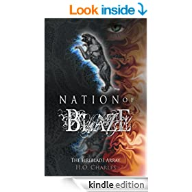 Nation of Blaze (The Fireblade Array Book 2)