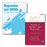 img - for Regression and ANOVA: An Integrated Approach Using SAS(R) Software + Applied Statistics: Analysis of Variance and Regression, Third Edition Set book / textbook / text book