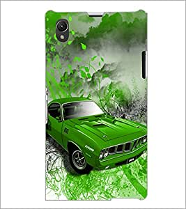 PrintDhaba Car D-4390 Back Case Cover for SONY XPERIA Z1 (Multi-Coloured)