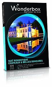 WONDERBOX - Coffret cadeau - NUIT ROMANTIQUE - CHÂTEAUX & BELLES DEMEURES