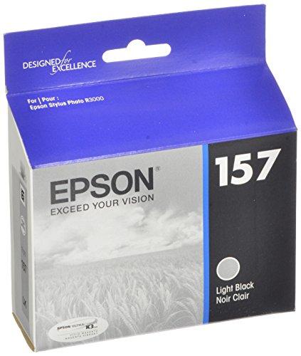 Epson UltraChrome K3 157 Inkjet Cartridge (Light Black) (T157720)