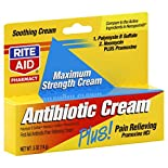 Rite Aid Pharmacy Antibiotic Cream, Maximum Strength, 0.5 oz (14 g)