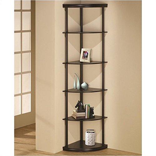 Coaster Home Furnishings 800279 Casual Bookcase, Cappuccino