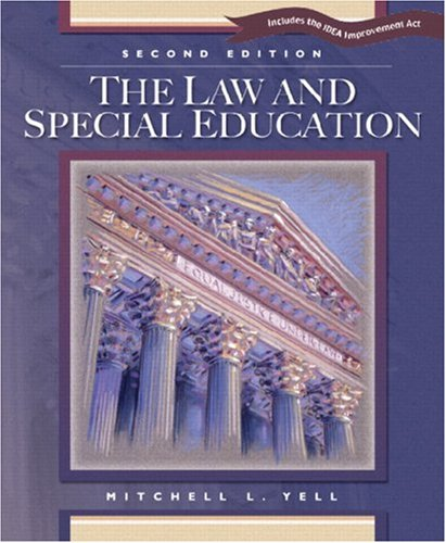 The Law and Special Education: Includes the IDEA...