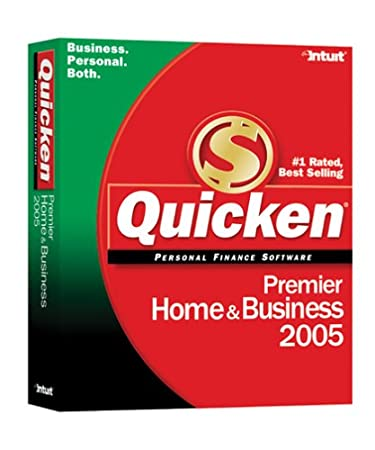 Quicken 2005 Premier Home & Business [Old Version]