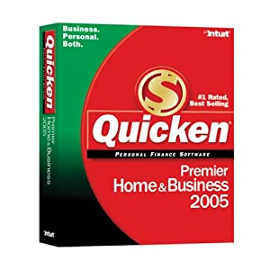 Quicken 2005 Premier Home and Business (1 cd)