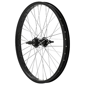 Avenir 36H Alloy 20 Inch x 1.75 Inch Rear Wheel, Black