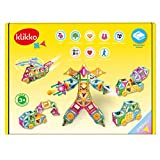 klikko Vehicles: Educational Building Toy with Activities to Learn Imagine/ Geometric Concepts, Ages 5+ (200+ pieces)