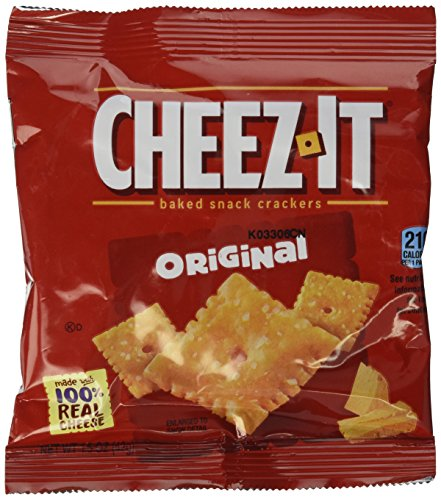 Cheez-It Crackers, Original, 1.5-Ounce Packages (Pack of 24)