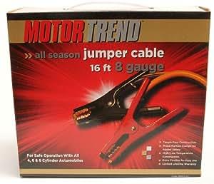 Motor Trend MTA816-CCA 16-Foot Jumper Cables, 500-AMP