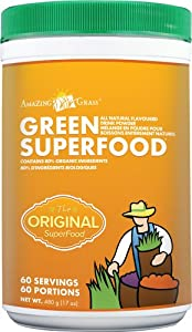 Amazing Grass Green SuperFood, 17-Ounce Tub