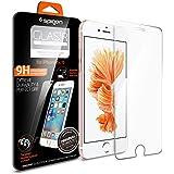 【Spigen】 iPhone6 ガラス フィルム /  iPhone6s ガラス フィルム GLAS.tR SLIM [ 液晶保護 9H硬度 Rラウンド 加工 ] アイフォン6s / 6 用 (Glas.t R SLIM SGP11588)