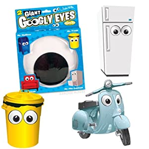Accoutrements Giant Googly Eyes