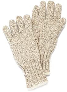 Fox River Ragg Wool Gloves, Small, Brown Tweed