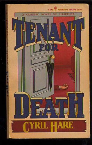 Tenant for Death/an Inspector Mallett Mystery, CYRIL HARE