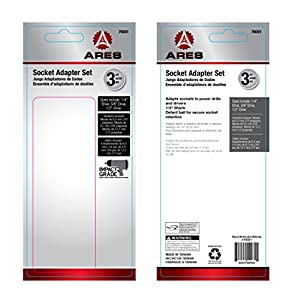 """6 """" Impact Grade Socket Adapter/Extension Set 