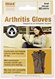 IMAK Compression Arthritis Gloves, Original with Arthritis Foundation Ease of Use Seal, Small