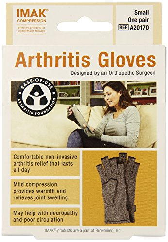 IMAK Compression Arthritis Gloves, Original