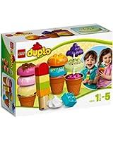 Lego Duplo Briques - 10574 - Jeu De Construction - Ensemble De Glaces Délicieuses