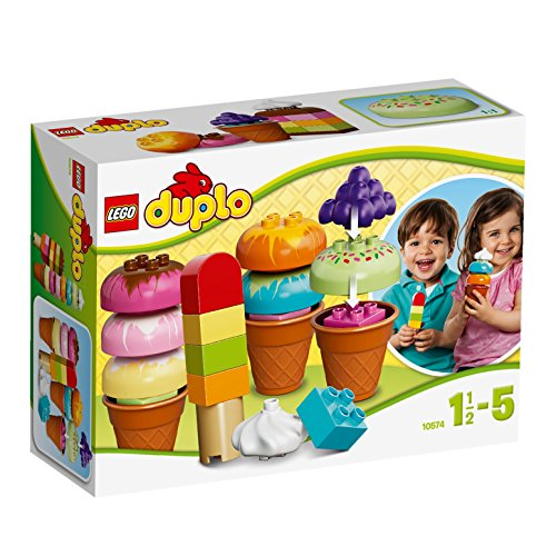 LEGO DUPLO Creative Play 10574: Creative Ice Cream (Duplos Ice Cream compare prices)