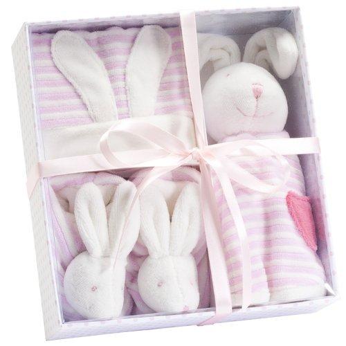 Bunny Gift Set. Pink. - 1
