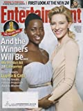 Entertainment Weekly February 28, 2014 Lupita Nyongo and Cate Blanchett And the Winners Will Be.......
