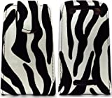 Black & White Leather Flip Case for Blackberry 9360 Curve By...3a-accessories