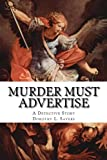 img - for Murder Must Advertise. A Detective Story. book / textbook / text book