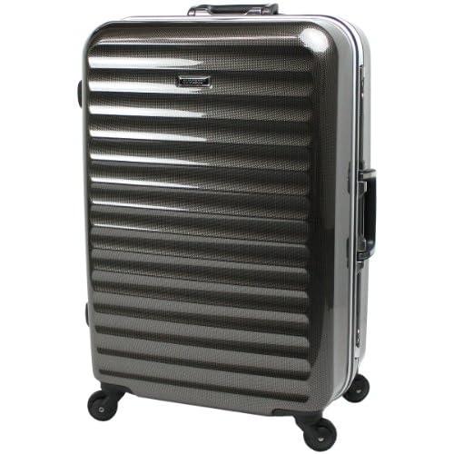 【SUCCESS サクセス】 スーツケース 中型 【TSAロック搭載 軽量フレームスーツケース グラード2013 Mサイズ 4.3kg 62リットル】 (中型67㎝ 4.3kg 62L, カーボンブラック)