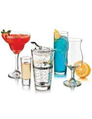 Libbey Bar in a Box Party Glass, 18-Piece, Clear by Libbey
