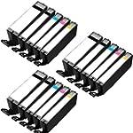 3 Set of 5 Inkfirst� Ink Cartridges P...