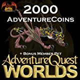 2,000 AdventureCoins Package: AdventureQuest Worlds [Game Connect]