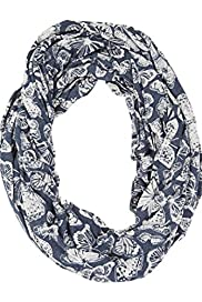 Burnout Butterfly Snood Scarf [T01-5680-S]