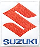 SUZUKI Team Motorcycles Biker Bigbike Logo Jacket T-shirt Patch Sew Iron on Embroidered Badge Emblem Sign