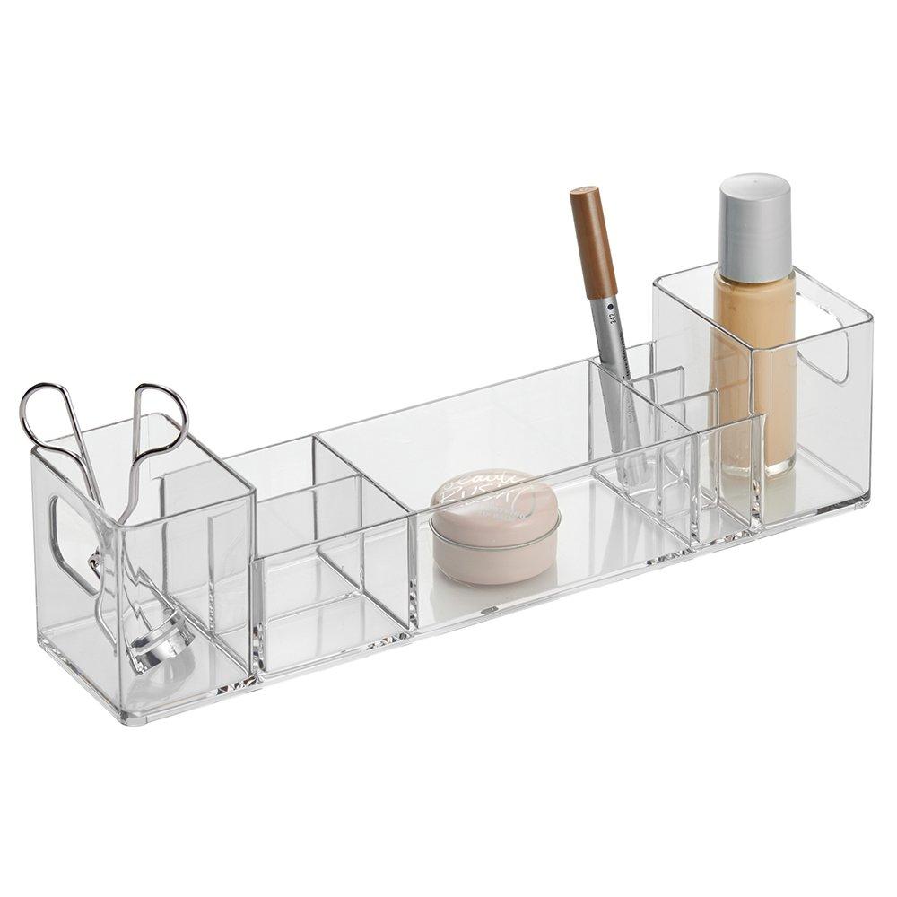 3pc organizer cosmetic home bathroom storage clear durable for Bathroom 94 percent