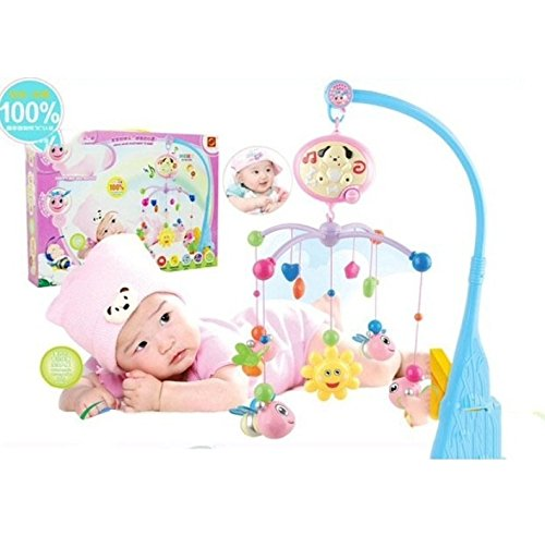 High Quality New 1 Set Baby Bed Bell Bed Hang Around Music, 20 Music,Baby Rattle Toys,Musical Toys For Baby Over 6 Months front-1025020