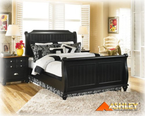 Brush Hollow Sleigh Bed by Ashley Furniture
