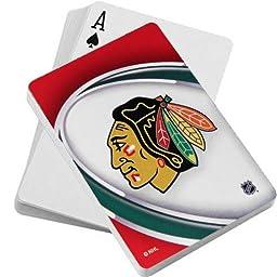 NHL Chicago Blackhawks Playing Cards