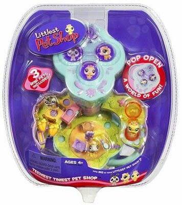 Buy Littlest Pet Shop Teeniest Tiniest Pet Shop – Barnyard