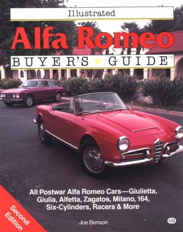 Illustrated Alfa Romeo Buyer's Guide (Illustrated Buyer's Guide)