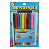 Mr. Sketch Scented Stix, Watercolor Markers, 10 Pack