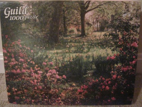Guild 1000 Piece Puzzle--Woodland Flowers