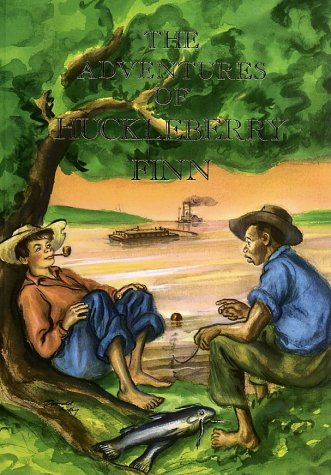 Image for The Adventures of Huckleberry Finn (Illustrated Junior Library)