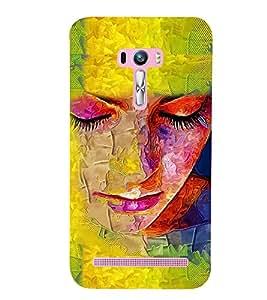 PRINTSWAG GIRL ART Designer Back Cover Case for ZENFONE SELFIE ZD551KL