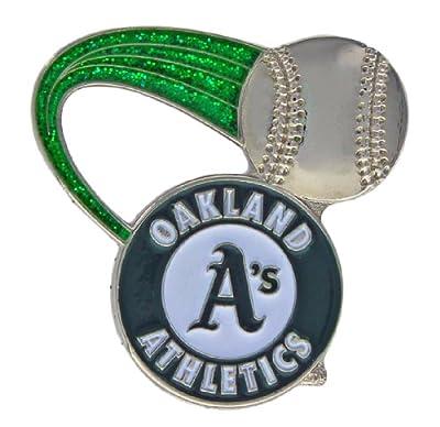 MLB Oakland Athletics Glitter Trail Pin
