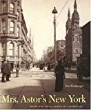 Mrs. Astor's New York: Money and Social Power in a Gilded Age (0300105150) by Homberger, Eric