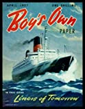 Boys Own Paper - Volume 79, number 7 - April 1957: The Night Spiders; Terror of the Air; Eagles Fields; Majorca Moon; Dogs Duty; Thirteen Boys Built Two Houses; Hospital Orderly Won VC at 14; How to Make an Inlaid Box; Helicopter Squadrons in Action