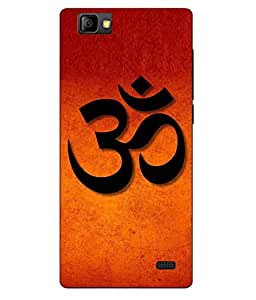 Case Cover Religion Printed Orange Soft Back Cover For LYF WIND 7
